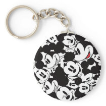 Mickey & Friends | Classic Mickey Pattern Keychain