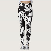 Mickey & Friends | Classic Mickey Pattern Leggings
