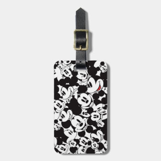 Mickey & Friends | Classic Mickey Pattern Luggage Tag