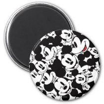 Mickey & Friends | Classic Mickey Pattern Magnet
