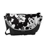 Mickey & Friends | Classic Mickey Pattern Messenger Bag at Zazzle