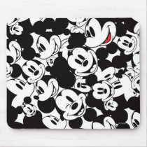 Mickey & Friends | Classic Mickey Pattern Mouse Pad