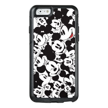 Mickey & Friends | Classic Mickey Pattern Otterbox Iphone 6/6s Case by disney at Zazzle