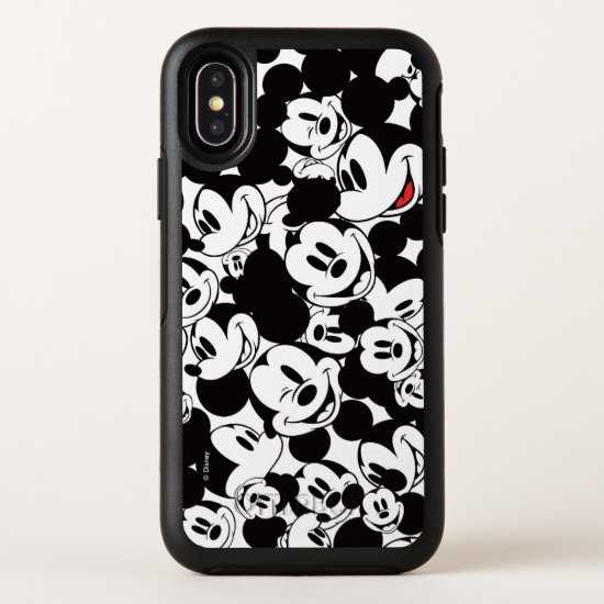 Mickey & Friends | Classic Mickey Pattern OtterBox Symmetry iPhone X Case