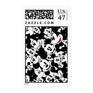 Mickey & Friends   Classic Mickey Pattern Postage