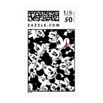 Mickey & Friends | Classic Mickey Pattern Postage