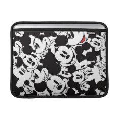 Mickey & Friends | Classic Mickey Pattern Sleeve For Macbook Air at Zazzle