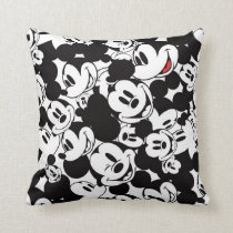 Mickey & Friends | Classic Mickey Pattern Throw Pillow