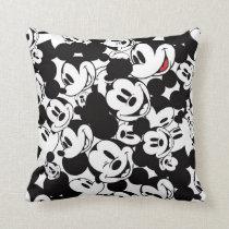 Mickey & Friends | Classic Mickey Pattern Throw Pillow