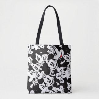 Mickey & Friends   Classic Mickey Pattern Tote Bag