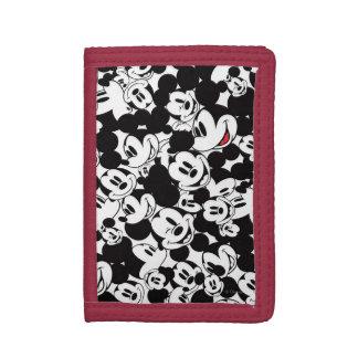 Mickey & Friends | Classic Mickey Pattern Tri-fold Wallet