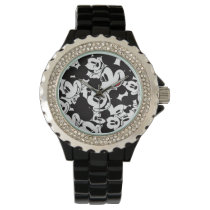 Mickey & Friends | Classic Mickey Pattern Wrist Watch