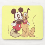 Mickey & Friends | Classic Mickey & Pluto Mouse Pad