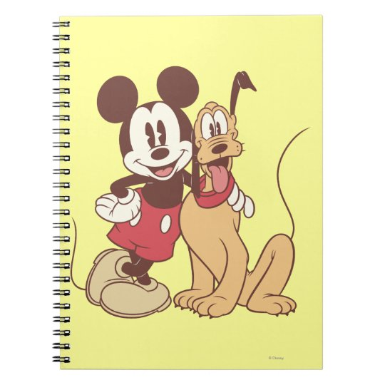Mickey & Friends   Classic Mickey & Pluto Notebook