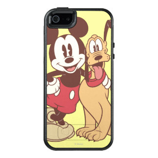 Mickey & Friends | Classic Mickey & Pluto OtterBox iPhone 5/5s/SE Case