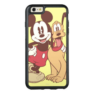 Mickey & Friends | Classic Mickey & Pluto OtterBox iPhone 6/6s Plus Case