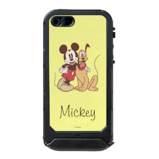 Mickey & Friends | Classic Mickey & Pluto Waterproof Case For iPhone SE/5/5s