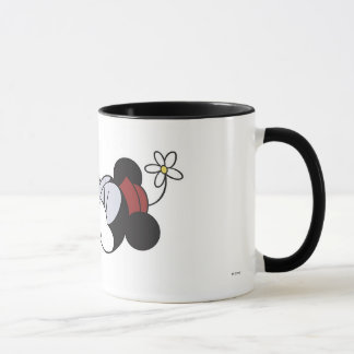 Mickey & Friends classic Minnie kissing Mickey Mug