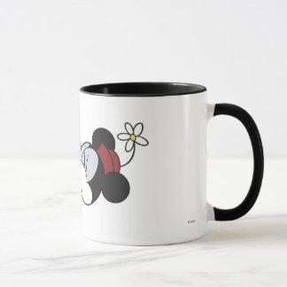 Mickey & Friends classic Minnie kissing Mickey Mug