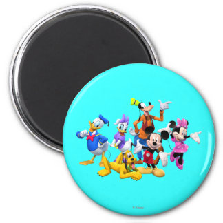 Mickey & Friends | Clubhouse 2 Inch Round Magnet