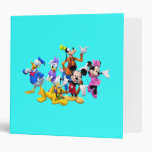 Mickey & Friends   Clubhouse 3 Ring Binder