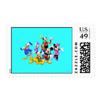 Mickey & Friends   Clubhouse Postage