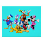 Mickey & Friends   Clubhouse Poster