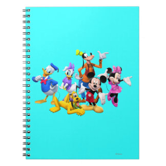 Mickey & Friends | Clubhouse Spiral Notebook