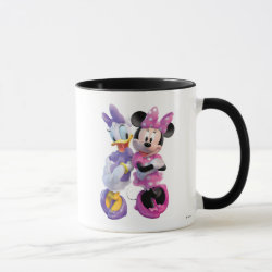 Combo Mug with Daisy Duck and Minnie Mouse BFF Best Friends Forever design