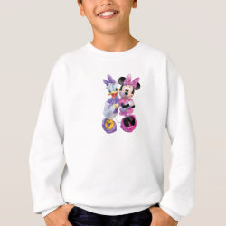 Kids' American Apparel Organic T-Shirt with Daisy Duck and Minnie Mouse BFF Best Friends Forever design