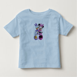 Toddler Fine Jersey T-Shirt with Daisy Duck and Minnie Mouse BFF Best Friends Forever design