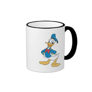 Mickey & Friends Donald Duck Ringer Coffee Mug
