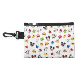 Mickey & Friends Emoji Pattern Accessory Bag