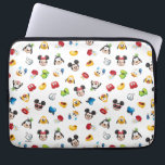 "Mickey &amp; Friends Emoji Pattern Computer Sleeve<br><div class=""desc"">Express yourself with this super cute pattern including Mickey and Friends.</div>"