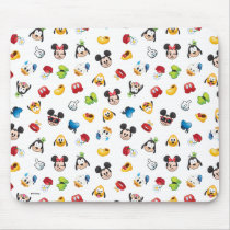 Mickey & Friends Emoji Pattern Mouse Pad