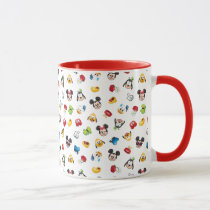 Mickey & Friends Emoji Pattern Mug