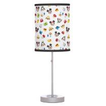 Mickey & Friends Emoji Pattern Table Lamp