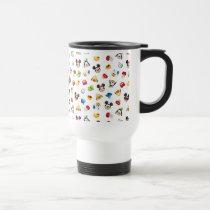 Mickey & Friends Emoji Pattern Travel Mug
