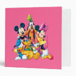 Mickey & Friends | Fab Five 3 Ring Binder