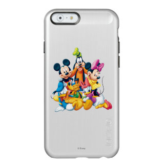 Mickey & Friends | Fab Five Incipio Feather® Shine iPhone 6 Case