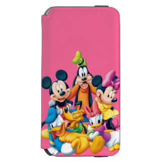 Mickey & Friends | Fab Five iPhone 6/6s Wallet Case