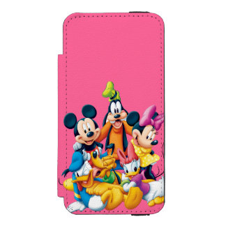 Mickey & Friends | Fab Five iPhone SE/5/5s Wallet Case