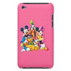 Mickey & Friends | Fab Five Ipod Case-mate Case at Zazzle