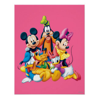 Mickey & Friends | Fab Five Poster