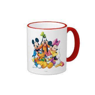 Mickey & Friends   Fab Five Ringer Mug