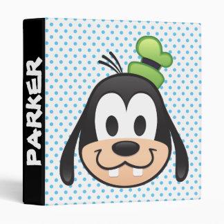 Mickey & Friends | Goofy Emoji 3 Ring Binder
