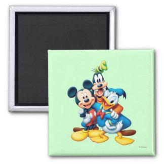 Mickey & Friends   Group Hug Magnet