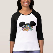 Mickey & Friends | Group in Mickey Ears 2 T-Shirt