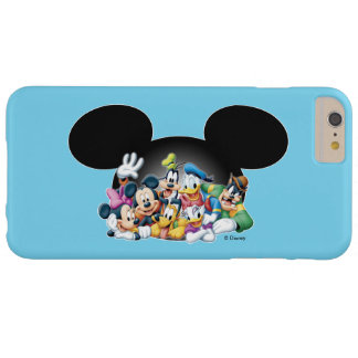 Mickey & Friends | Group in Mickey Ears Barely There iPhone 6 Plus Case