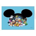 Mickey & Friends | Group in Mickey Ears Card